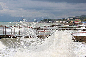 Sea Storm Royalty Free Stock Photography - Image: 20637507