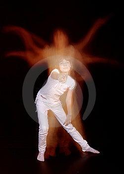 The Girl Dancer Stock Image - Image: 20638231