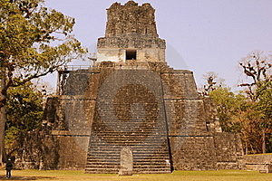 Guatemala - Mayan Pyramid Stock Photography - Image: 20638842