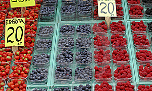 Fruit Market Stock Image - Image: 20639671