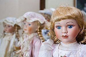 Vintage Porcelain Dolls Royalty Free Stock Photo - Image: 20641095