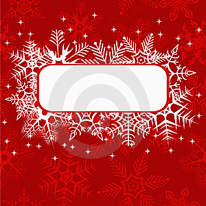 Red Xmas Banner Stock Photo - Image: 20643340