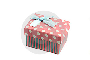 Pink Gift Box Stock Photo - Image: 20644750