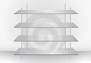 Stylish Modern Shelf Stock Photos - Image: 20646073