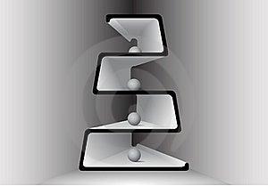 Abstract Shape Shelf Royalty Free Stock Image - Image: 20646076