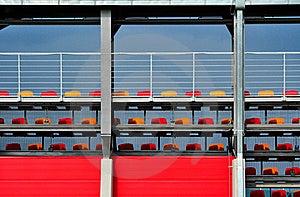 Sport Stadium Tribune Stock Images - Image: 20646474