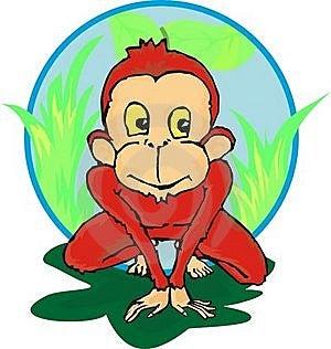 Litle Chimpanzee Royalty Free Stock Photos - Image: 20648138