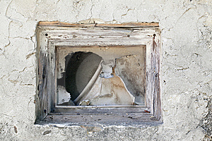 Wall And Empty Window Stock Photos - Image: 20651403