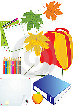 Set Of School Accessories Royalty Free Stock Photos - Image: 20654658