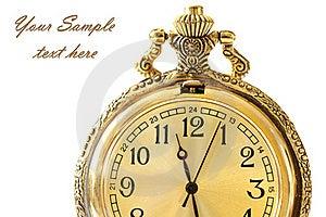 Antique Watch Stock Image - Image: 20654831
