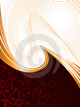 Dark Red Background With Waves Stock Photography - Image: 20656332