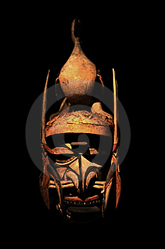 Malagan Ceremonial Mask Royalty Free Stock Images - Image: 20658799