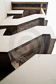 Emergency Fire Exit Stair Stock Images - Image: 20660604