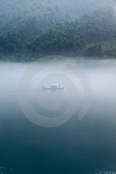Fishing In Morning Stock Photo - Image: 20662000