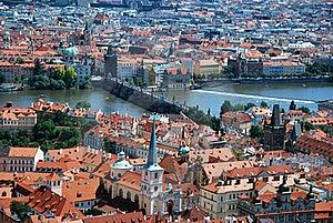 The Vltava In Prague Stock Photos - Image: 20664043