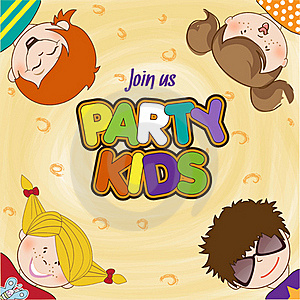 Kids Celebrating Birthday Party Royalty Free Stock Photography - Image: 20665247