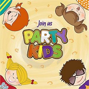庆祝生日聚会的孩子 免版税图库摄影 - 图片: 20665247