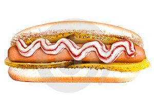 Hotdog Royalty Free Stock Image - Image: 20665656