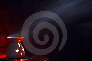 Smoking Oil Incense Royalty Free Stock Images - Image: 20665659