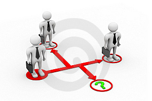Business Interaction Royalty Free Stock Images - Image: 20665779