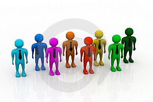 Stand Out From The Crowd Stock Photos - Image: 20666183