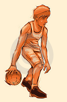 Basket Boy. Stock Photo - Image: 20666260