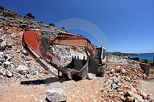 Excavator,fisheye Royalty Free Stock Photo - Image: 20666955