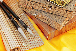 Chinese Calligraphy Royalty Free Stock Photography - Image: 20668157