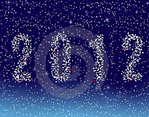 Happy New Year 2012 Royalty Free Stock Photo - Image: 20668375