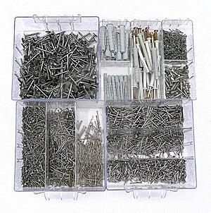 Nails Set Royalty Free Stock Image - Image: 20668396