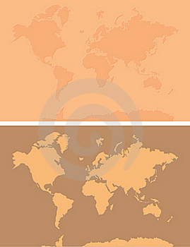 World Map Background Royalty Free Stock Photos - Image: 20675688