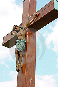 Jesus Christ Crucified Royalty Free Stock Photography - Image: 20686377