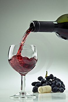 Pouring A Glass Of Wine Stock Photo - Image: 20695790