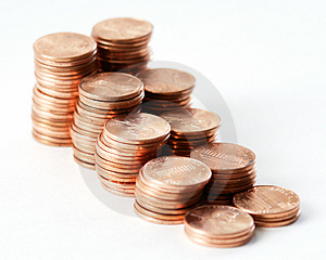 Pennies VII Royalty Free Stock Photography - Image: 2075547