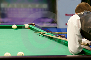 Billiard Royalty Free Stock Photo - Image: 2076145