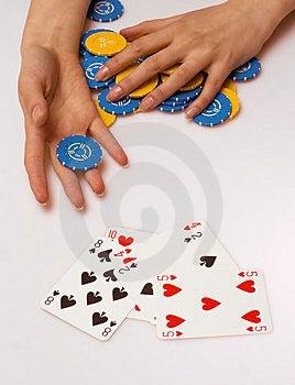 Poker Charity Royalty Free Stock Image - Image: 2077326