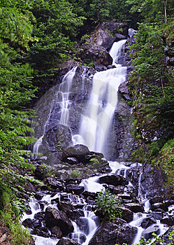 Beautiful Waterfall Named Milky Royalty Free Stock Images - Image: 20702789