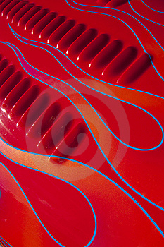 Red Louvers Stock Images - Image: 20705904