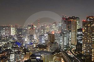 Tokyo Cityscape Royalty Free Stock Photo - Image: 20715575