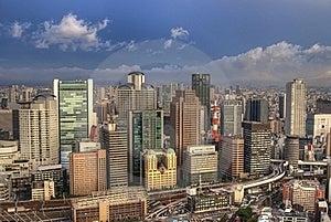 Osaka Cityscape Royalty Free Stock Photo - Image: 20715595