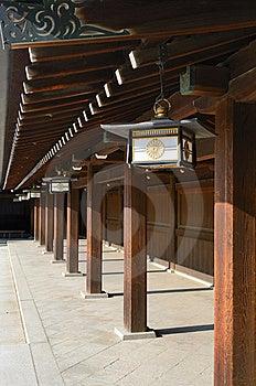 Temple At Meiji Shrine Stock Images - Image: 20715814