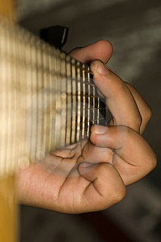 Acoustic Guitar - Chord G-dur Stock Images - Image: 20717454