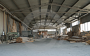 Carpentry Factory Royalty Free Stock Image - Image: 20717746
