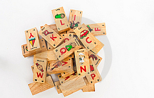 Wording Puzzel A-Z  For Kid Royalty Free Stock Photo - Image: 20718755