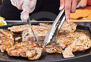 Grilled Steaks Royalty Free Stock Photography - Image: 20720867