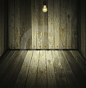Wooden Room Royalty Free Stock Photography - Image: 20721297
