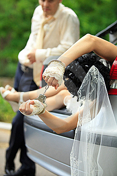 Discharge Of Captive Bride Stock Image - Image: 20725531