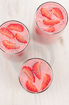Strawberry Smoothie Royalty Free Stock Photography - Image: 20727237