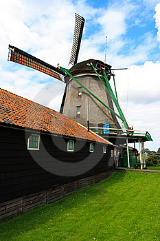 Windless Side Of The Windmill Stock Photography - Image: 20729022