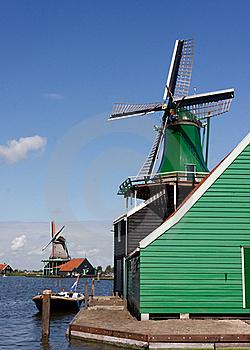 Green Windmills Stock Photos - Image: 20729043